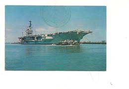 $3-5766 NAVI MILITARI USS FORRESTAL USA NON VIAGGIATA - Barche