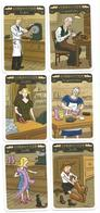 Métier, Cordonnier, Lot 6 Cartes, Jeu 7 Familles - Illustration, Humour, Commerce Chaussures, Bottes, Image, Dessin - Autres Collections