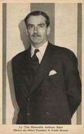 British Minister Foreign Affairs Robert Anthony Eden (1945) WWII Tuck Postcard - War 1939-45
