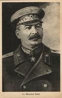 Russian General Secretary Joseph Stalin (1945) WWII Tuck Postcard - War 1939-45