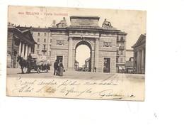 $3-5771 Lombardia MILANO Porta Garibaldi Carro1905 VIAGGIATA - Milano