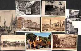 Petit Lot à Découvrir - 28 Cartes (Germany Hungaria Ilde Du Levant Jersey Carte Photo Mycènes...) - Mundo