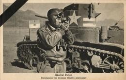 US General George S. Patton In Memoriam (1945) WWII Tuck Postcard - War 1939-45