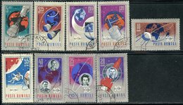 Y85 ROMANIA 1967 2559-2567. 10th Anniversary Of Space Exploration. Space - Space