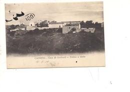$3-5773 Sardegna CAPRERA GARIBALDI MULINO A VENTO 1910 VIAGGIATA - Altre Città