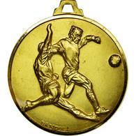 Belgique, Médaille, Sport, Football, RC Ahin, 1982, Bandoli, SUP, Gilt Bronze - Belgique