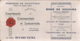 Imprimerie Commerciale Et Industrielle (La Louvière) - Buvards - Buvards, Protège-cahiers Illustrés