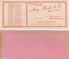 Aug. Bayle & Cie (avril-mai) (Transports) - Buvards - Transports