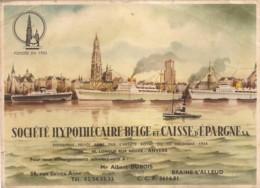 Société Hypothécaire Belge Et Caisse D'Epargne S.a. - Buvards - Buvards, Protège-cahiers Illustrés