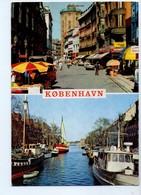 U3795 Postcard 1990 Kopenhagen + Nave Navi Navy Ship Bateaux + NICE TIMBRE - Storia Postale - Danimarca