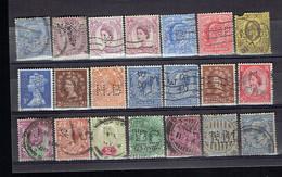 Lot UK 6 - Perfins - Perforés - Perforiert - Grande-Bretagne Toutes époques Et Différents - Grande-Bretagne