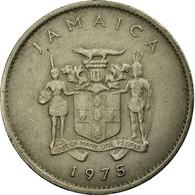 Monnaie, Jamaica, Elizabeth II, 10 Cents, 1975, Franklin Mint, TTB - Jamaique