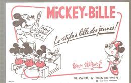 Buvard MICKEY BILLE Le Stylo à Bille Des Jeunes! - Papeterie
