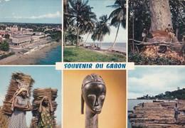 SOUVENIR DU GABON. MULTI VUE VIEW VISTA. IRIS. VOYAGEE CIRCA 1980s- BLEUP - Gabon