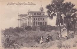 AFRIQUE OCCIDENTALE, SENEGAL. DAKAR. PALAIS DU GOUVERNEMENT. FORTIER. CIRCA 1910s - BLEUP - Senegal