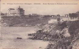 AFRIQUE OCCIDENTALE, SENEGAL. DAKAR. ASNE BERNARD ET PALAIS DU GOUVERNEMENT. FORTIER. CIRCA 1910s - BLEUP - Senegal
