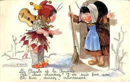 La Cigale Et La Fourmi (animée, Colorisée, Mauzan 1944) - Mauzan, L.A.