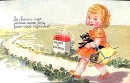 Le Chemin N'est Jamais Assez Long Pour Vous Rejoindre (animée, Colorisée, Chat Mauzan) - Mauzan, L.A.
