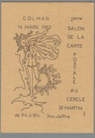CPM 68 - Colmar - 2ème Salon De La Carte Postale - 1982 - Colmar