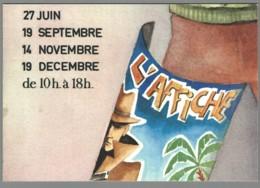 CPM 75 - Paris - Rendez-vous Internationaux De La Carte Postale - 1981 - Carte Puzzle N° 6 - France