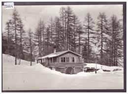 GRÖSSE 10x15cm - SAMEDAN - NATURFREUNDE HÜTTE CRISTOLAIS - TB - GR Graubünden