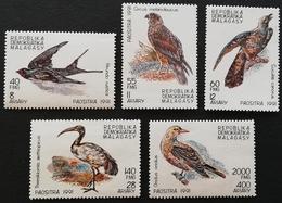 Madagascar 1991 Birds LOT - Madagascar (1960-...)