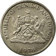 Monnaie, TRINIDAD & TOBAGO, 10 Cents, 1978, Franklin Mint, TTB, Copper-nickel - Trinité & Tobago