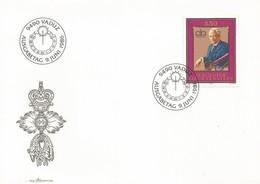LIECHTENSTEIN FDC 1986 Franz Josef II - FDC