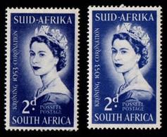South Africa. 1953 Coronation. MNH - Ungebraucht