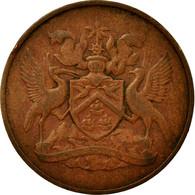 Monnaie, TRINIDAD & TOBAGO, 5 Cents, 1971, Franklin Mint, TB+, Bronze, KM:2 - Trinité & Tobago