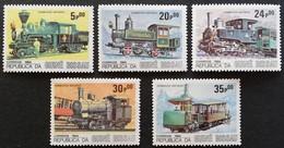 Guinea-Bissau 1984 Locomotives LOT - Guinea-Bissau