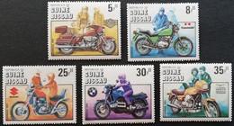 Guinea-Bissau 1985 Motorcycle Cent.LOT - Guinea-Bissau