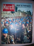 Paris Match N°400 - 08/12/1956 Égypte ONU JO Melbourne Hongrie Seberg Puyi Chine - General Issues