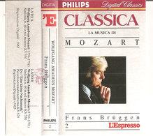 Classica La Musica Di Mozart  Mozart - Frans Bruggen - Cassettes Audio