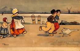 Enfants Hollande Animée Colorisée Chemin De Halage.... (Ethel Parkinson) - Parkinson, Ethel