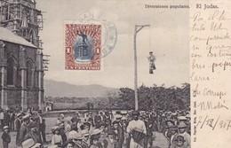DIVERSIONES POPULARES. EL JUDAS. FOT PAYNTER BROS. CIRCULE 1907 A FRANCE. COSTA RICA-UNIQUE-RARISIME- BLEUP - Costa Rica