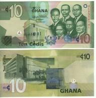 GHANA  New Date  2017  10 Cedis Pnew  P39g...    2017     UNC - Ghana