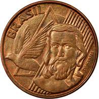 Monnaie, Brésil, 5 Centavos, 2005, TTB, Copper Plated Steel, KM:648 - Brésil