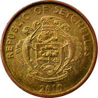 Monnaie, Seychelles, 5 Cents, 2010, Pobjoy Mint, TTB, Brass Plated Steel, KM:47a - Seychelles