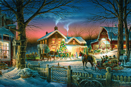 Winter Christmas And New Year Modern Rare New Postcard #90/20 - Andere