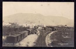 GORIZIA FERROVIA STAZIONE GORZ 1910 - Gorizia