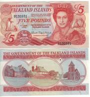 FALKLAND  £ 5   P17   Dated  2005 - Regno Unito
