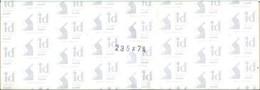 I.D. - Bandes 235x74 Fond Noir (double Soudure) - Bandes Cristal