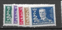 1930 MH Hungary - Nuevos