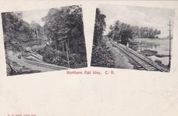 NORTHERN RAIL WAY. H.N. RUDD. MULTI VUE VISTA VIEW. COSTA RICA-RARISIME-TBE- BLEUP - Costa Rica
