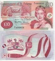 Saint HELENA £ 10   P12b   Dated  2012 - Regno Unito