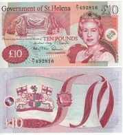 Saint HELENA £ 10   P12b   Dated  2012 - United Kingdom