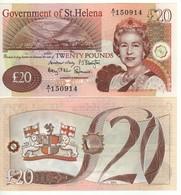 Saint HELENA £ 20   P13b   Dated  2012 - Regno Unito
