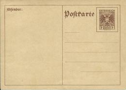 1935 12 Gr. Postkarte  Neu - Entiers Postaux