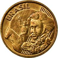 Monnaie, Brésil, 10 Centavos, 2012, TTB, Bronze Plated Steel, KM:649.2 - Brésil